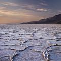 Badwater Salt Flats 1 by Bob Neiman