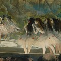 Ballet At The Paris Opera  by Edgar Degas