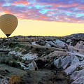 Ballooning At Sunrise No 2 by Phyllis Taylor