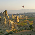 Ballooning In Cappadocia by Michele Burgess