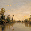 Banks Of The Seine by Charles-Francois Daubigny
