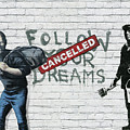 Banksy - The Tribute - Follow Your Dreams - Steve Jobs by Serge Averbukh