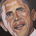 Barack Obama by Kenneth Kelsoe