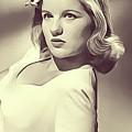 Barbara Bel Geddes, Vintage Actress by John Springfield