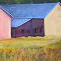 Barn Across The Road by Dona Mara