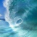 Barrel Swirl  -  Triptych  Part 2 Of 3 by Sean Davey