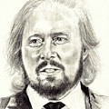 Barry Gibb Portrait by Suzann Sines