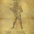 Baseball Catcher's Mask Patent by Dan Sproul