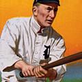 Baseball. Ty Cobb Baseball Card by Everett