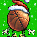 Basketball Christmas by Kevin Middleton