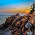 Bass Harbor Lighthouse Maine by Ina Kratzsch