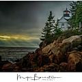 Bass Harbor Light by Myer Bornstein