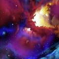 Bat Nebula by James Christopher Hill