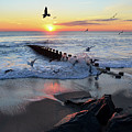 Bay Head Sunrise by Bob Cuthbert