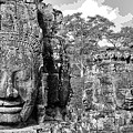Bayon Faces  by Timothy Leonard