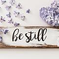 Be Still And Know by Kim Hojnacki