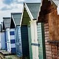 Beach Huts by Ed James