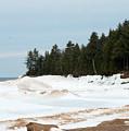 Beach Of Ice by Linda Kerkau