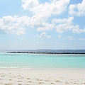 Beach On An Island In The Maldives With Turquoise Water by Oana Unciuleanu