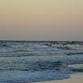 Beach Sunset-2 by Janet Dickinson