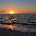 Beach Sunset by Larah McElroy