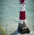 Beachy Head Lighthouse. by Donald Davis