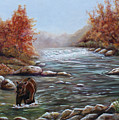 Bear In Fall by Dorothy Riley