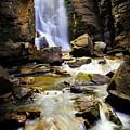 Beartooth Falls by Craig J Satterlee