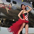 Beautiful 1940s Style Pin-up Girl by Christian Kieffer