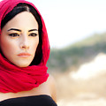 Beautiful Arabic Woman by Anna Om