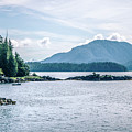 Beautiful Landscape In Alaska Mountains  by Alex Grichenko