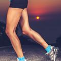 Beautiful Sportive Womens Legs by Anna Om