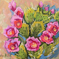 Beavertail Cactus by Diane McClary