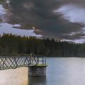 Beecraigs Loch by Douglas Milne