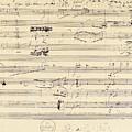 Beethoven Manuscript, 1826 by Granger