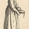 Beggar Woman With Pan by Jacques Callot
