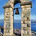 Belfry On Palamidi Castle by George Atsametakis