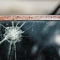 Belmont Broken Truck Window 1571 by Bob Neiman