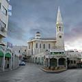 Bethlehem - Al Madbasa Street by Munir Alawi