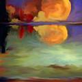 Beyond Sunset Pond by Maria Pureza Escano