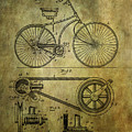 Bicycle Patent From 1890 by Chris Smith