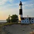 Big Sable Point Lighthouse by Terri Gostola