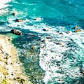 Big Sur California Coastline On Pacific Ocean by Alex Grichenko