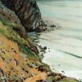 Big Sur California by Donald Maier