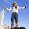 Big Tex In Dallas Texas by Anthony Totah