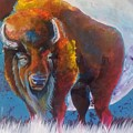 Bison Moon by Cassie Chapin