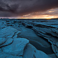 Bisti Fissure New Mexico by Steve Gadomski