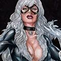 Black Cat by Bill Richards