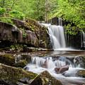 Blaen Y Glyn Waterfalls by Nigel Forster