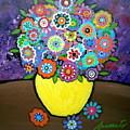 Blooms 6 by Pristine Cartera Turkus